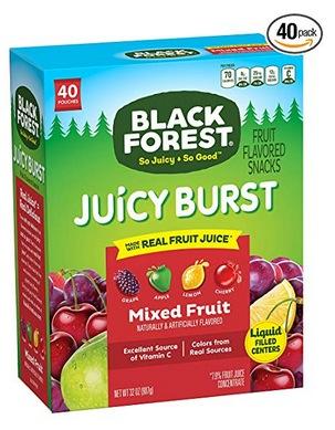 Black Forest Fruit Snacks Juicy Bursts