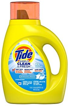 Tide Simply Detergent 40 oz