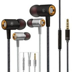 TWO Sets of High Definition Wired Earbuds