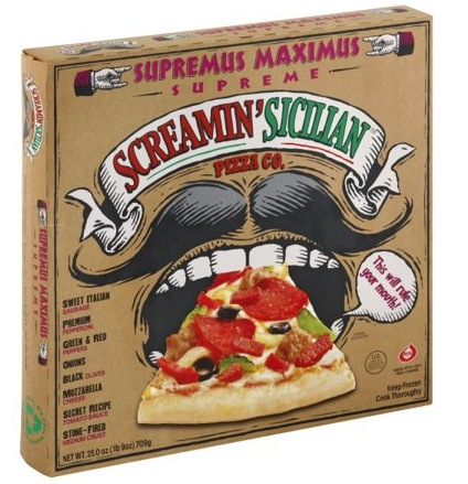 Screamin' Sicilian Frozen Pizza