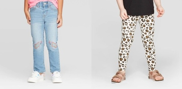 Cat & Jack Leggings and jeans