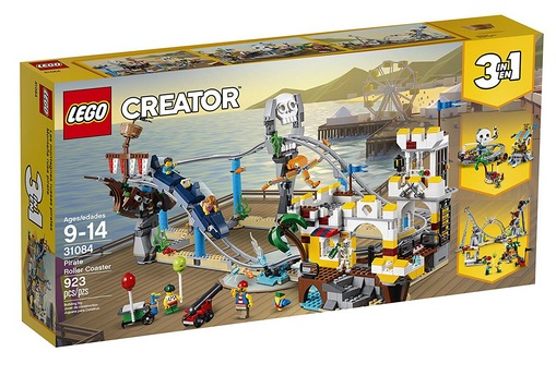 LEGO Creator 3in1 Pirate Roller Coaster 31084 Building Kit