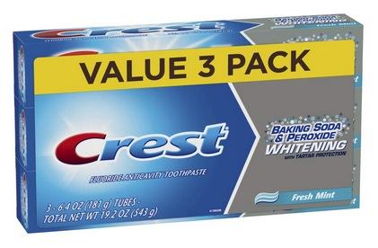 Crest Baking Soda & Peroxide Whitening Toothpaste