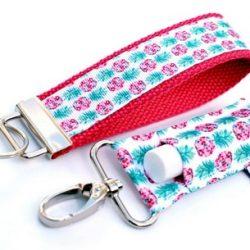 LippyClip + Keychain Wristlet