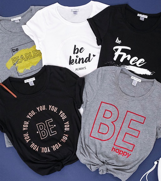 Cents of Style Be Series Tees