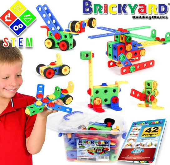 STEM Toys Kit, Educational Construction Engineering Building Blocks