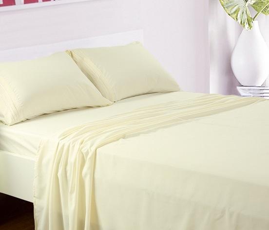 Deep Pocket Microfiber Bed Sheet 4-Piece Sets