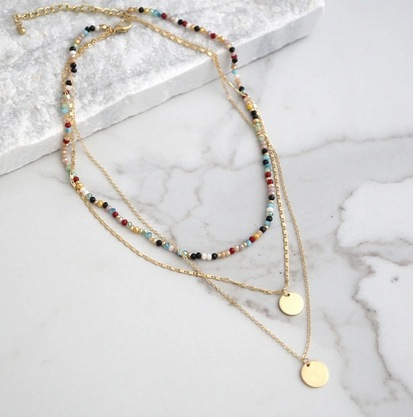 Fall Layered Necklace Collection