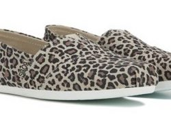 Women's Skechers BOBS Leopard Slip On Shoes
