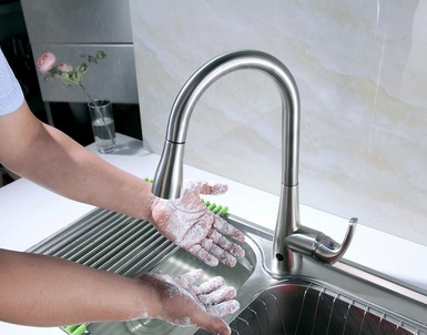 Flow Motion Activated Kitchen Faucet Only $99 Shipped