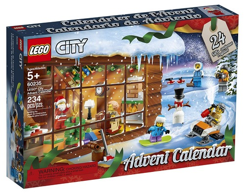 LEGO City Advent Calendar 60235 Building Kit