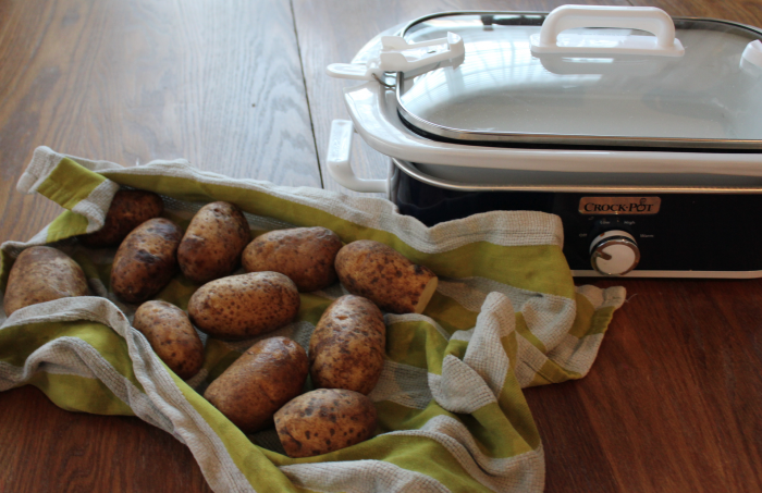pantry recipe: baked potatoes