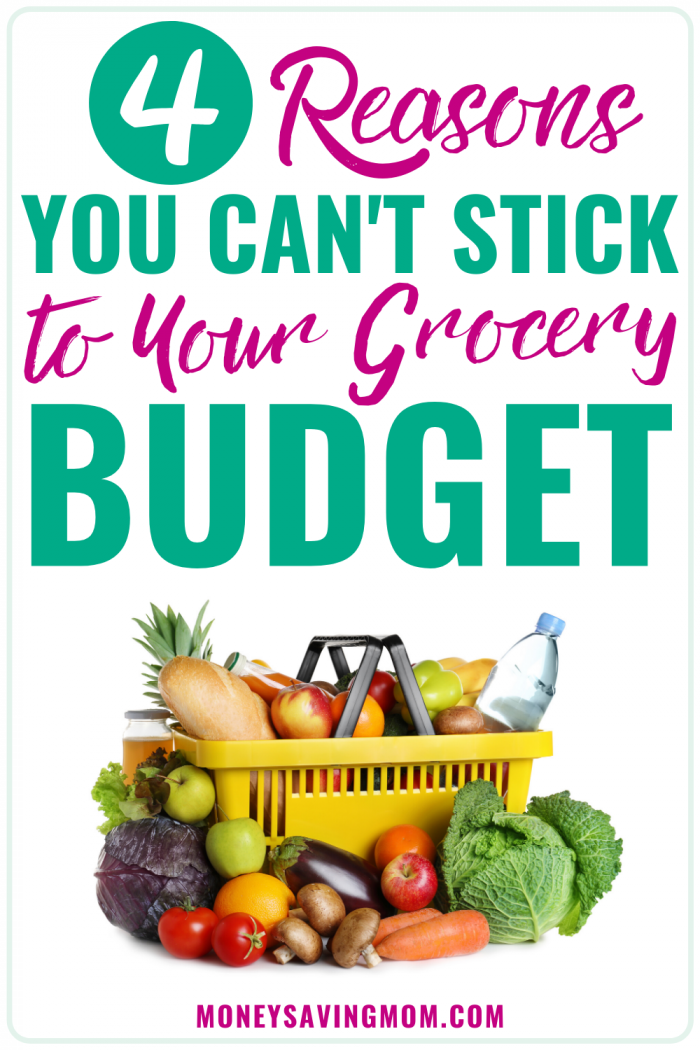 Why You Can't Stick to Your Grocery Budget