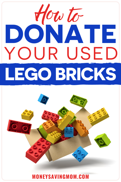 how to donate bricks with LEGO Replay Program