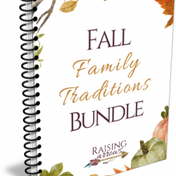 Fall Family Traditions Printable Bundle