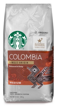Starbucks Roast Coffee 10-12-Ounce Bags