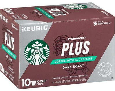 Starbucks PLUS K-Cups 10-Count