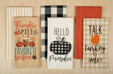 Harvest Kitchen Towel Set