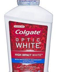 Colgate Total or Optic White Mouthwash