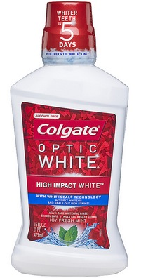 Colgate Total or Optic White Mouthwash