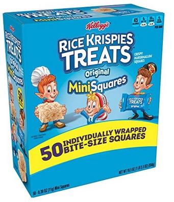 Kellogg's, Rice Krispies Treats Crispy Marshmallow Mini-Squares