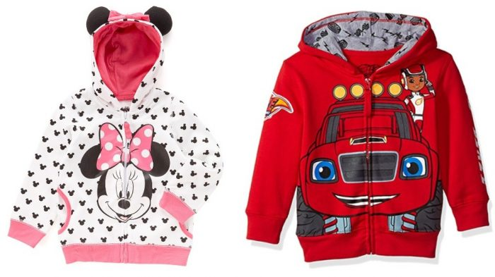 Kids Character Hoodies Only $12.99