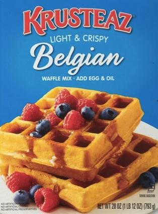 Krusteaz Belgian Waffle or Pancake Mix