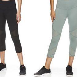 Reebok Women's Ascend High Rise Capri Leggings