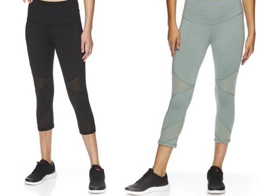 Reebok Women's Ascend High Rise Capri Leggings