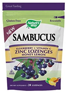 Nature's Way Sambucus Elderberry Lozenges