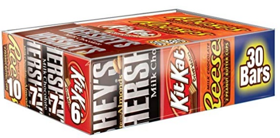 HERSHEY'S Halloween Chocolate Candy Bar Assorted Variety Pack