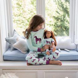 Girl & Doll Matching Pajamas