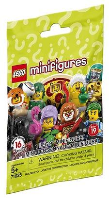 LEGO Minifigures 71025 Series 19 Building Kit