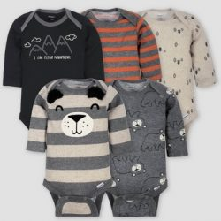 Gerber Baby Onesies 5-Pack Only $7.99 at Target