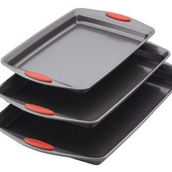 Rachael Ray Nonstick Bakeware Cookie Pan 3-Piece Set