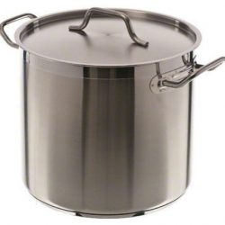 16-Quart Stainless Steel Stock Pot with Cover