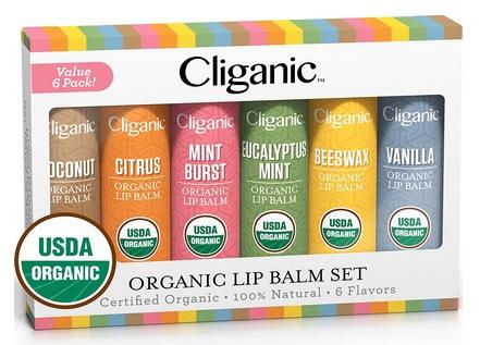 Organic Lip Balm Set