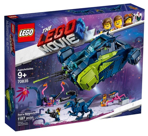 THE LEGO MOVIE 2 Rex's Rexplorer!
