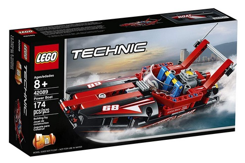 LEGO Technic Power Boat Building Kit