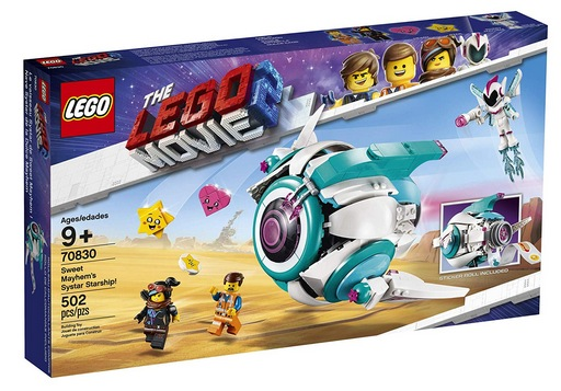 LEGO The Lego Movie 2 Sweet Mayhem's Systar Starship! Building Kit