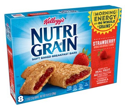 Kellogg's Nutri-Grain Breakfast Bars 48-Count Only $8.78