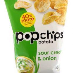 Pop Chips Sour Cream & Onion Chips at Walmart!