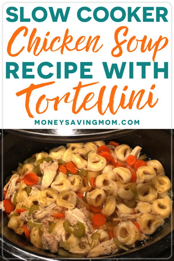 Slow Cooker Tortellini Soup