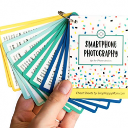Smartphone Photography Cheat Sheets