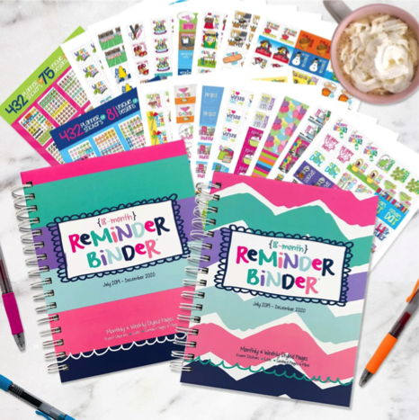 Two Reminder Binder Sets