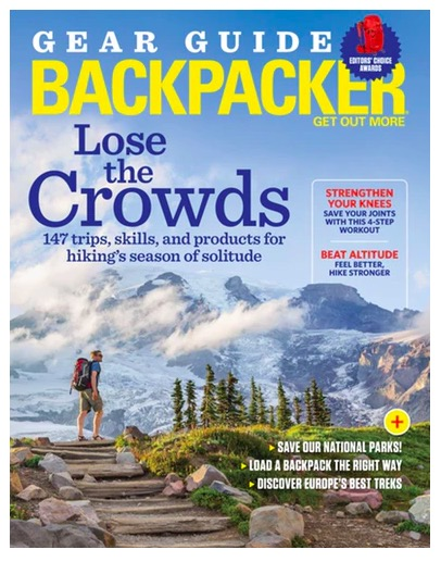 Backpacker Magazine Outdoor Gift
