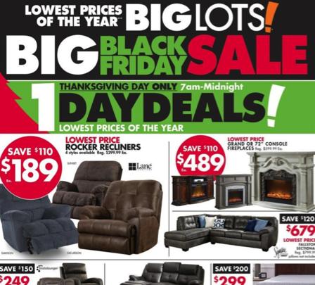 Big Lots Black Friday Ad