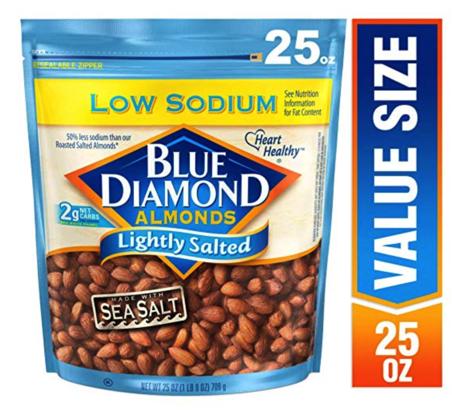 Blue Diamond Almonds Lightly Salted
