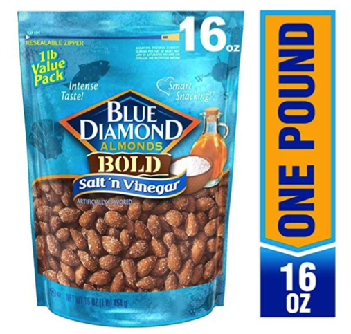 Blue Diamond Almonds One Pound Bag