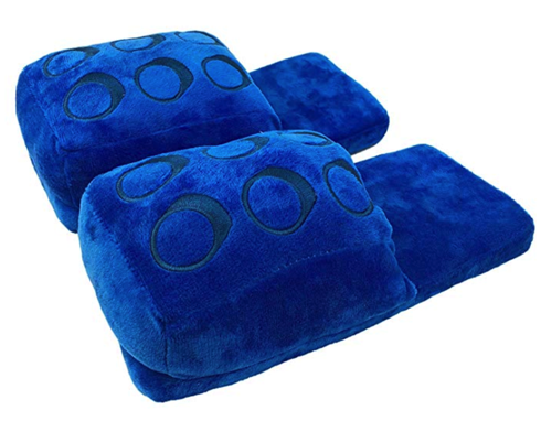 Blue LEGO Slippers